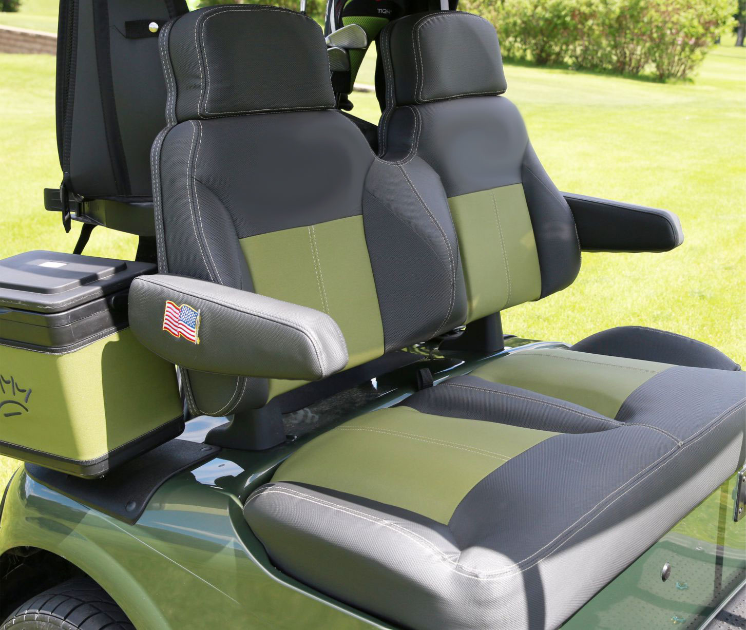 Custom Seating 9 as well Rdc3yo furthermore Watch in addition Watch in addition Hinged Door Golf Cart Enclosure Doorworks. on yamaha golf cart dash kits