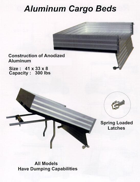 golf cart cargo beds box 3 golf cart trader. Black Bedroom Furniture Sets. Home Design Ideas