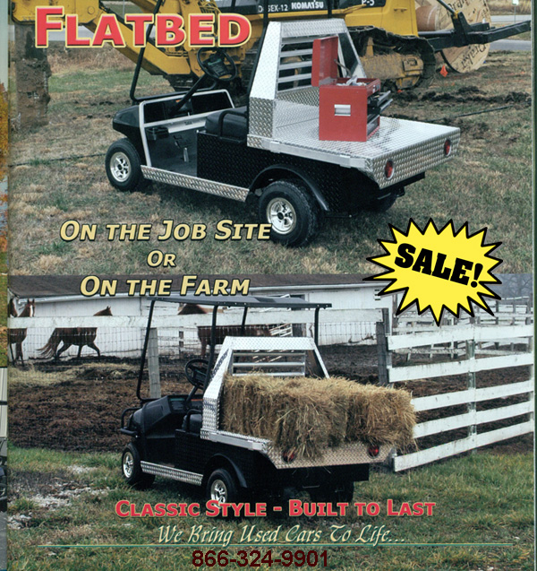 Flat Bed 1 Flatbeds For Golf Carts on industrial dump carts, ezgo gas cargo carts, taylor dunn carts, ezgo hunting carts, gas powered carts, ez go flatbed carts, flatbed cushman cart,