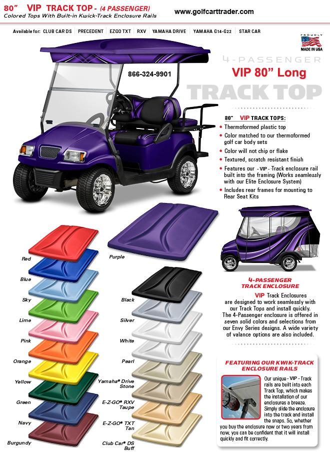 sc 1 st  Golf Cart Trader & Cart Tops
